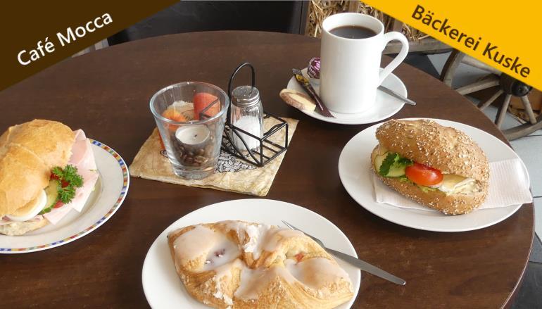 Snacks Bäckerei Kuske und Cafe Mocca